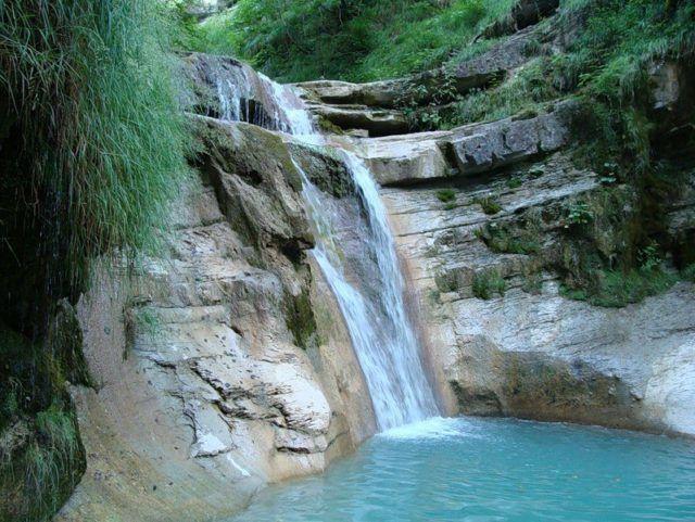 Водопад Оляпкин
