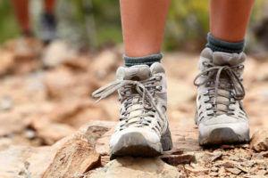 Правильная обувь для похода
