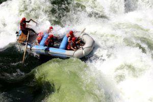 Уровень воды в Замбези