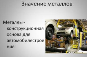 Где применяют переработанный металл