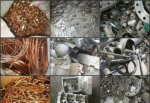 Применение металлолома