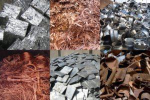 Сортировка металлолома на цветные и черные металлы