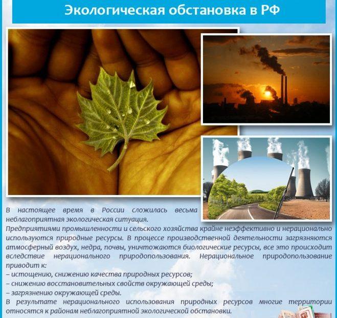 Экологическая обстановка в России