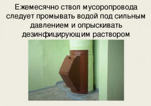 Функция мусоропровода